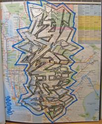 Subway Map, from the portfolio Your House is Mine