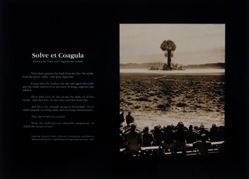 Solve et Coagula (Dissolve the Fixed and Coagulate the Volatile)