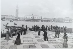 Looking at San Marco Square, Venice