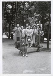 Parade Group/Paris, no. 2 in the portfolio Photographs: Elliot Erwitt, 1977