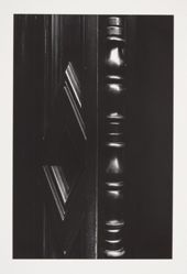 Untitled (Door and Newel Post) 1980, from the Chiaroscuro portfolio, 1982