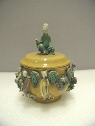 Bowl with Daoist Immortals