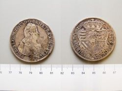 Coin from Tuscany under Holy Roman Emperor Leopold II