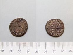 Silver groat of Ferdinand II from Barcelona