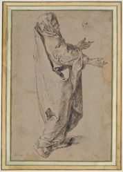 Study for a Standing Virgin Mary