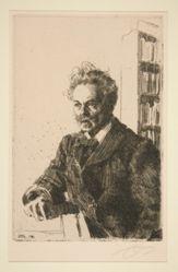 Portrait of A. Strindberg