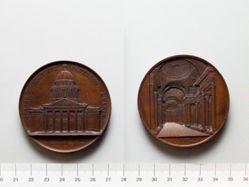 Belgian Medal of Pantheon in Paris
