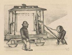 Trabajadores tranviarios (The tram workers)