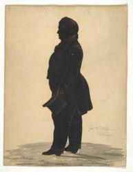 Silhouette of General William Williams