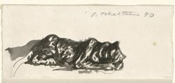 Study for a Leopard