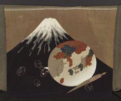 Haori with Mount Fuji