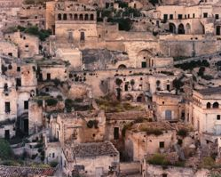 Caves used as Dwellings..., Matera, Italy