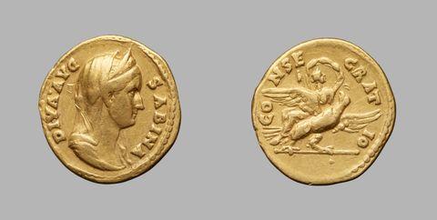 Aureus of Hadrian, Emperor of Rome from Rome