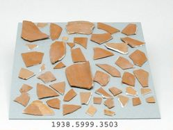 Group of redware sherds