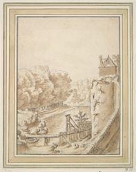 A Moat near a Castle