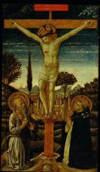 The Crucifixion with Saints Jerome and Dominic