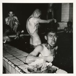 Two Miners in Public Bathhouse, Datong, Shanxi Province
