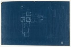 "Blueprints for ""Sondern House"""