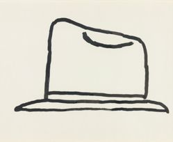 Untitled [Hat], from Suite of 21 Drawings