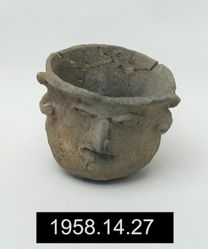 Vessel with Anthropomorphic Face