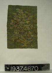 Brocaded plain cloth