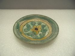 Dish with Flower