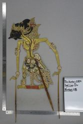 Shadow Puppet (Wayang Kulit) of Jayadrata, from the set Kyai Drajat
