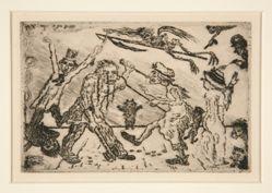 La colère (Wrath), from the portfolio Les péchés capitaux (The Deadly Sins)