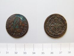 4 maravedis of Charles IV