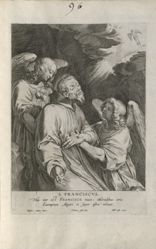 Saint Francis Supported by Angels