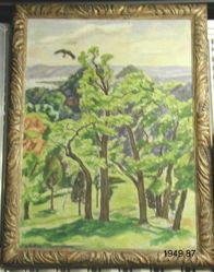 Landscape with Buzzard