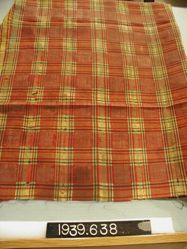 Length of brocaded ikat cloth