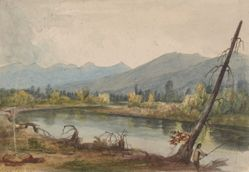 Bitterroot River near Fort Owen