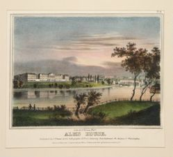 Alms House from Views of Philadelphia and Its Vicinity