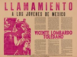 Llamamiento a los jóvenes de México - Vicente Lombardo Toledano (Appeal to the Youth of Mexico - Vicente Lombardo Toledano)