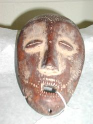 Mask with Handle