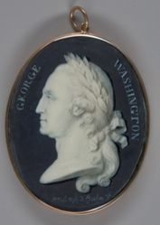 George Washington (1732-1799), LL.D. 1781; verso: Eleanor (Nelly) Parke Custis (Mrs. Lawrence Lewis) (1779-1852)