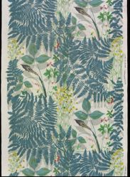 """Length of Fabric, """"Jack-in-the-Pulpit"""" Pattern"""