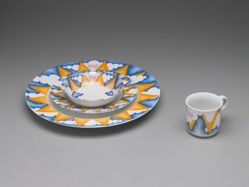 "Four-piece place setting, ""Sunshine"" pattern"