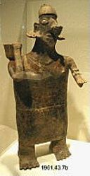 Standing Female Figure with Bowl