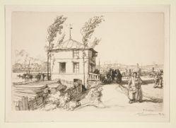 La guinguette, route de Billancourt