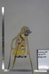 Shadow Puppet (Wayang Kulit) of Temboro, from the set Kyai Drajat