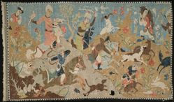 Tapestry of a Hunting Scene
