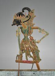 Puppet (Wayang Klitik) of Gatotkaca