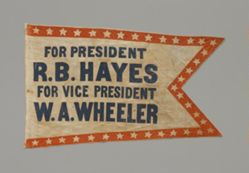 Hayes and Wheeler Banner