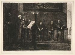 Les Chantres Espagnols - Le Lutrin (The Spanish Cantors, or The Lectern)