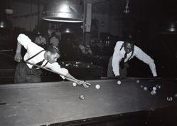 Shooting Pool in Harlem