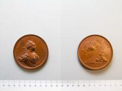 Bronze medal of Elizabeth I
