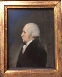 Gen. Washington. Full bust at left