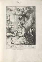 Mary Magdalene, 1 of 8 prints from the series Eight Repentant Sinners from the Old and New Testament